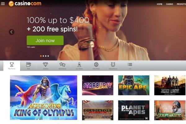 Casino com games
