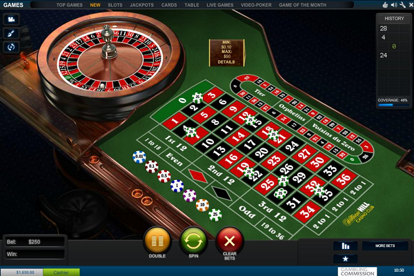 William Hill Casino Club Games