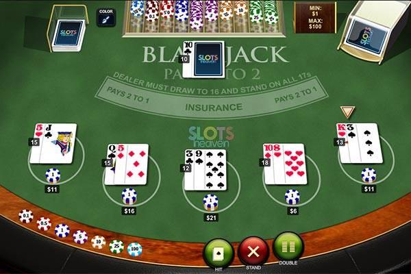 Slots Heaven Casino Blackjack