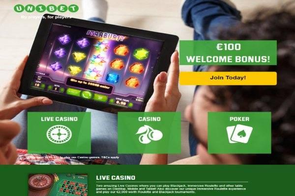 Play at Unibet casino