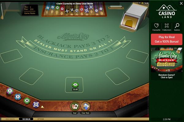 casinoland Blackjack