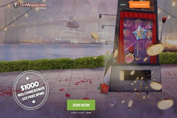 Play at LeoVegas Casino