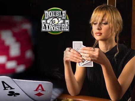 Play Double Exposure Blackjack