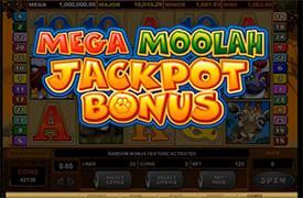 Mega Moolah Jackpot Thumbnail