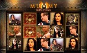 Mummy scratch cards