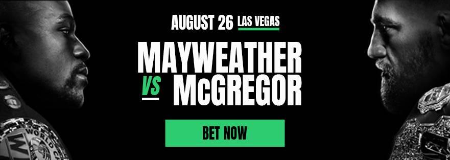 Mayweather vs McGregor betting