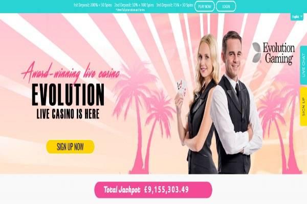 Miami dice live casino