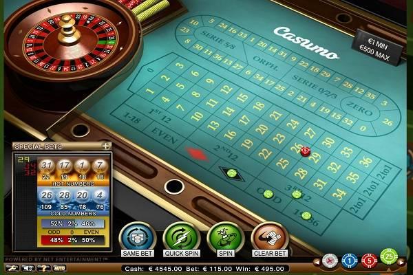 Casumo Casino Roulette