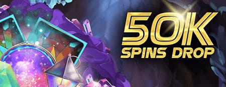 BGO 50K Spins Drops