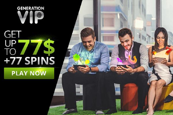 Generation Vip screenshot promotion - online-casinos-canada.ca