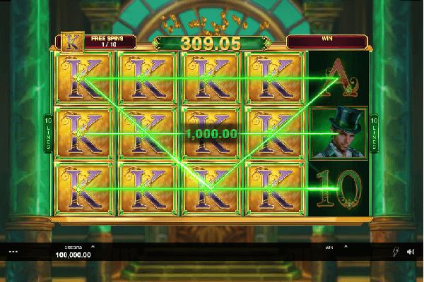 Book of oz Slot Screenshot 2 - Online Casinos Canada