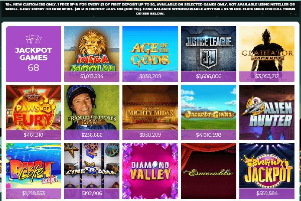 Vegas Luck Screenshot of jackpot games -online-casinos-canada.ca