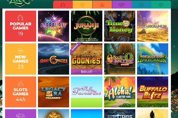 Vegas Luck Screenshot slot games -online-casinos-canada.ca