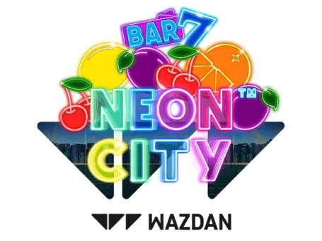 Neon City Slot Logo -online-casinos-canada.ca