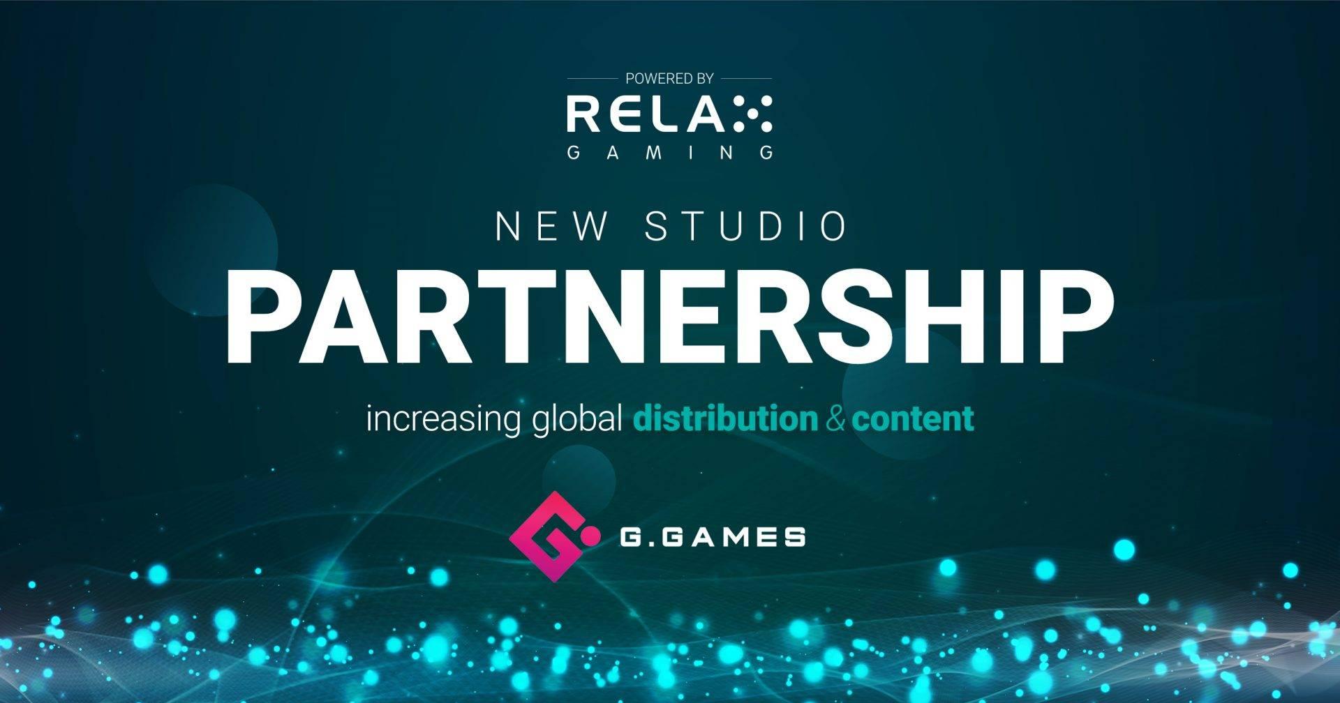 relax gaming partnership